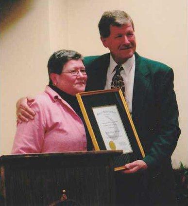 Sheriff McCaskill-award