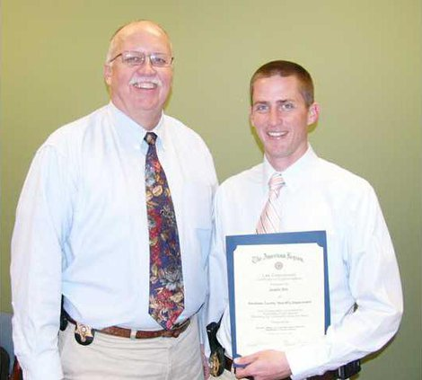 Dill honored by Legion