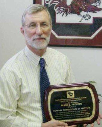 Frank Sheheen award pic