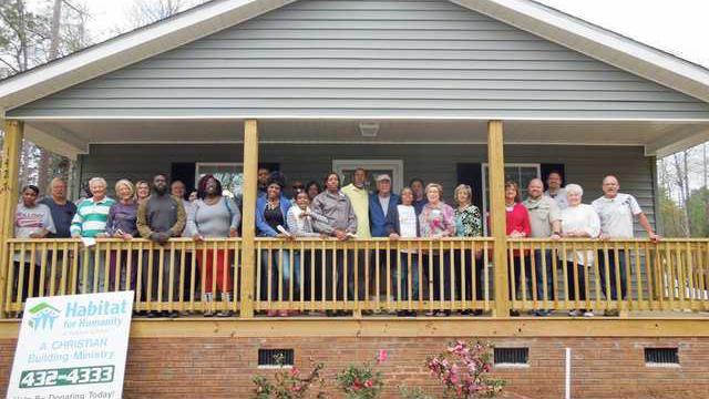 38th Habitat Home