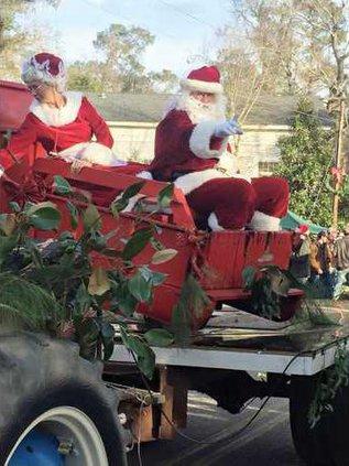 Boykin Parade - Santa