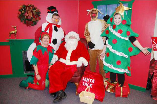 Kershaw County Santa 1 - For Front