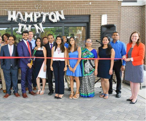 Hampton Inn opening
