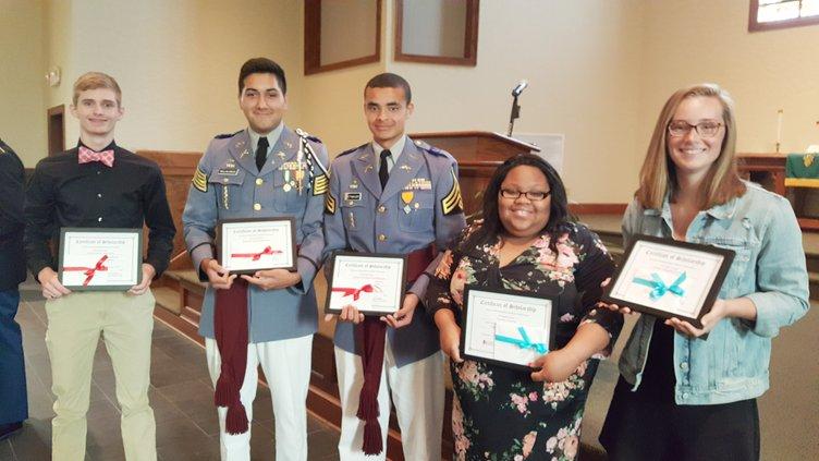 DAR Scholarship Recipients