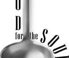 Food For The Soul LOGO BW